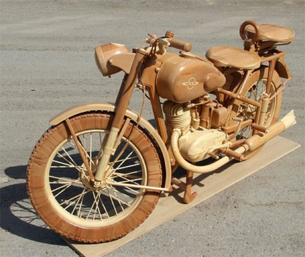 Wood Motorbike Http Www Dailyhomedecortips Com Other Ideas Wood Motorbike Html Carro De