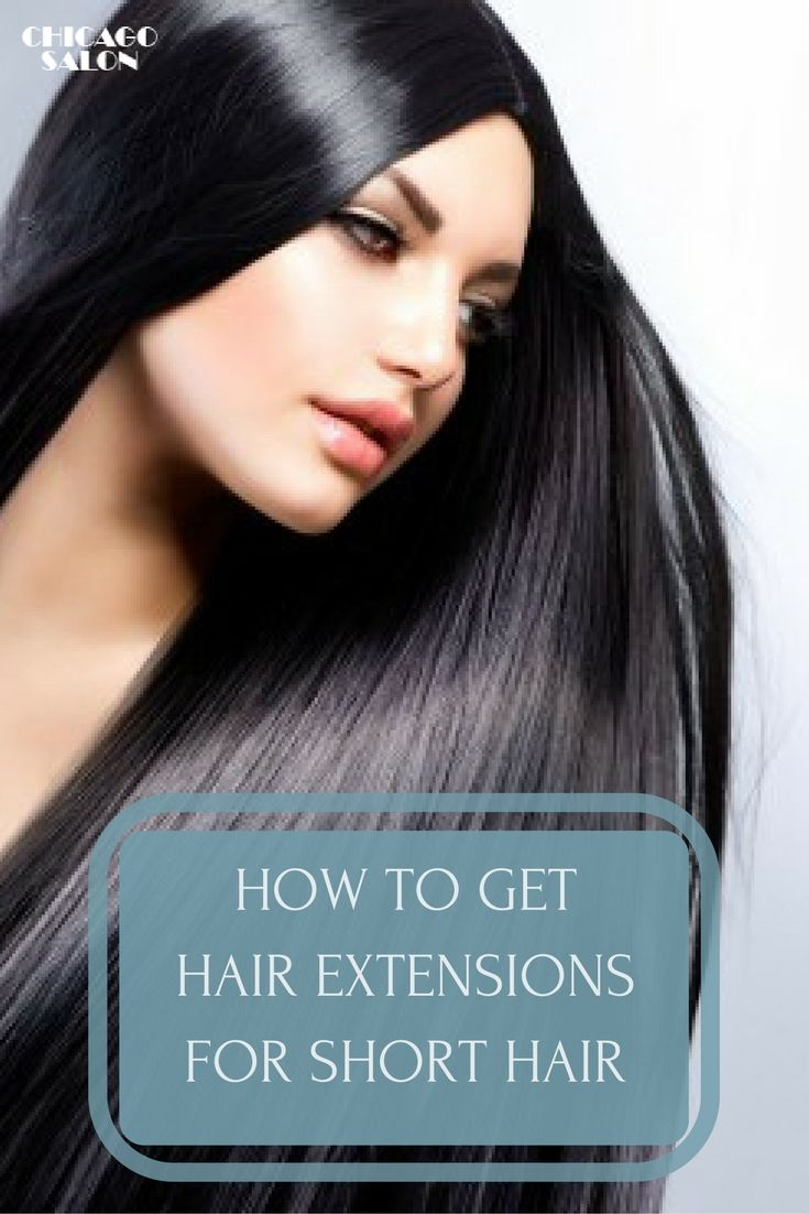 If you have short hair, you might be interested in getting hair extensions ... #hair #hairtips #hairextensions #beauty #hairstyle #chicagohairextensionssalon
