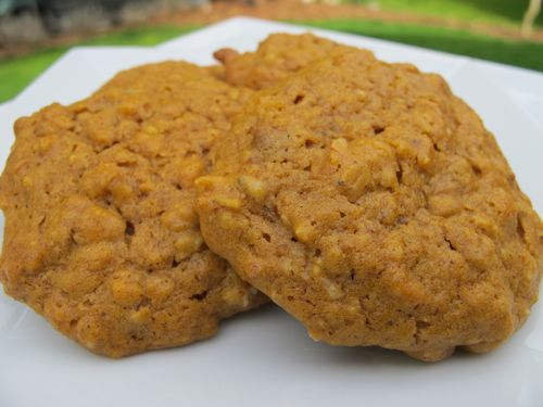 Vegan Pumpkin Pecan Cookies | Dessert Recipes | Pinterest