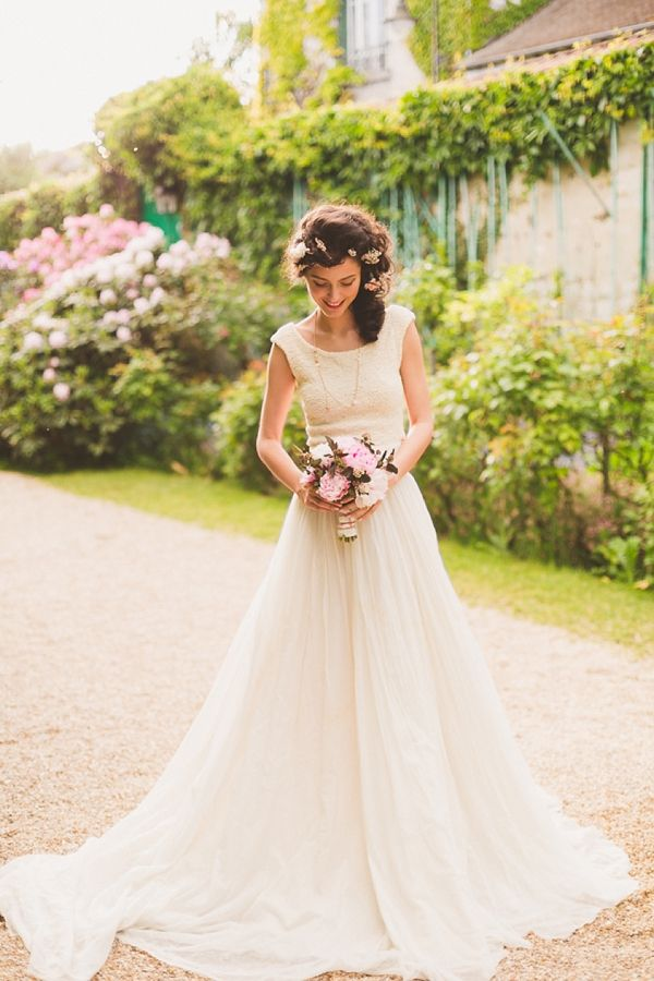 Romantic wedding dress #weddingdress