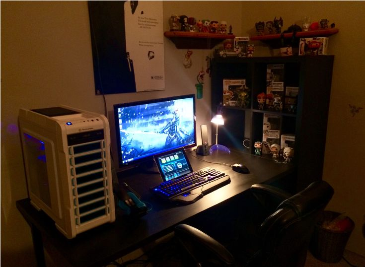 101 Best Images About Gaming Set Ups On Pinterest