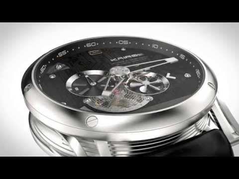 The First Hybrid Mechanical Smartwatch | KAIROS Baselworld 2015 - YouTube