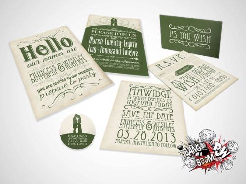 Banging Wedding Invites | When Geeks Wed | Bloglovin'
