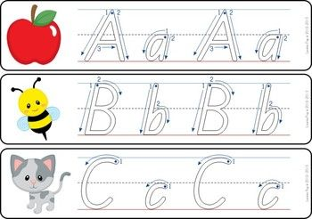 Write and Wipe - Alphabet with Correct Correct Letter Form
