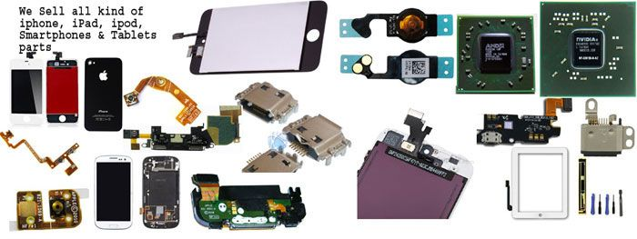 one shop stop for all kind of #iPhone, #iPad, #iPod, #smartphone & tablets repair and replacement parts.