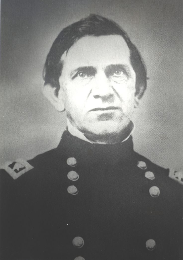 General Edward Canby was raised in Crawfordsville, Indiana, where his father served as a Federal Land Agent.