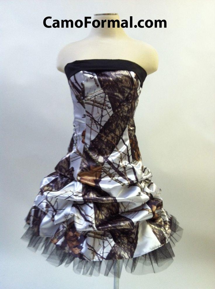 1000 images about winter breakup mossy oak camo formal for Mossy oak camo wedding dress