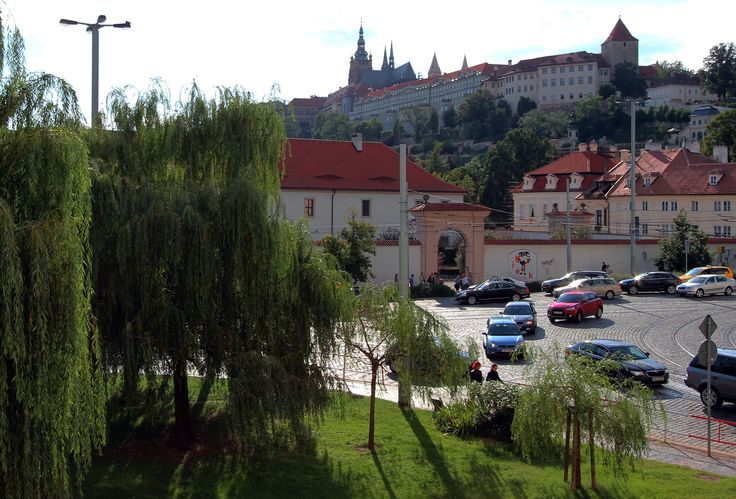 View from apartment in Hotel Trinidad Prague Castle
