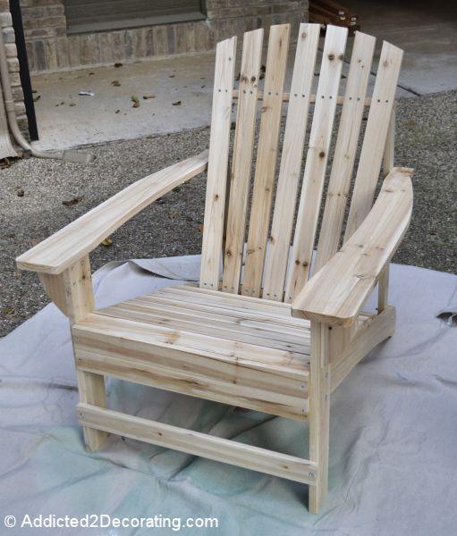 Superb Patio Progress:: My $36 Adirondack Chairs Awesome Design