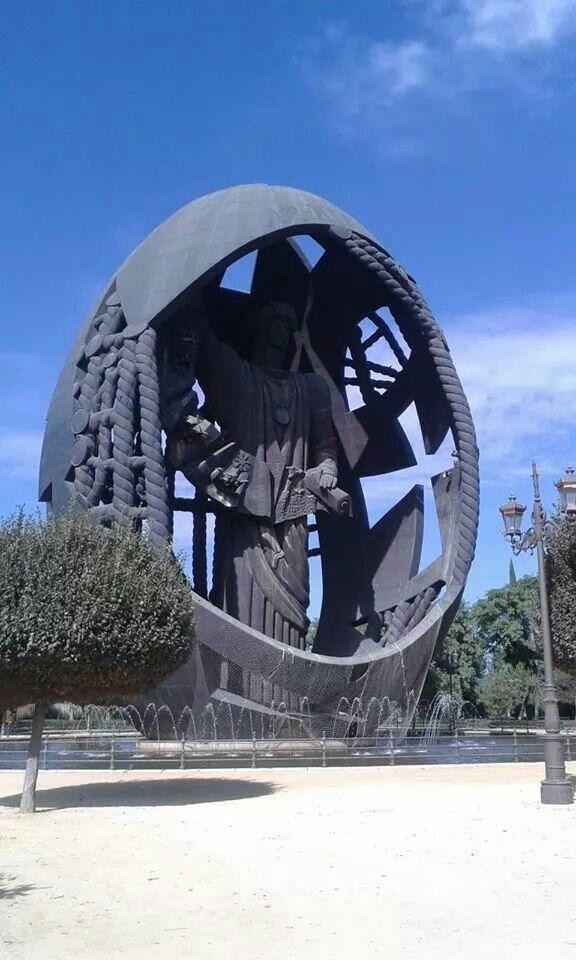 El Huevo de Colon Parque de San Jeronimo _Sevilla