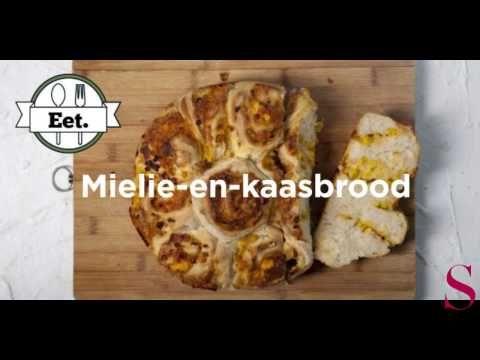 VIDEO: Maklike mielie-en-kaas-brood met net 3 bestanddele | SARIE