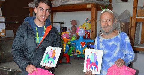 Ripollés apoya con su arte a Vicente Soler - Mundotoro.com #arte