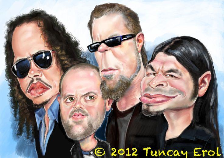 Metallica by ErolArt.deviantart.com on @DeviantArt