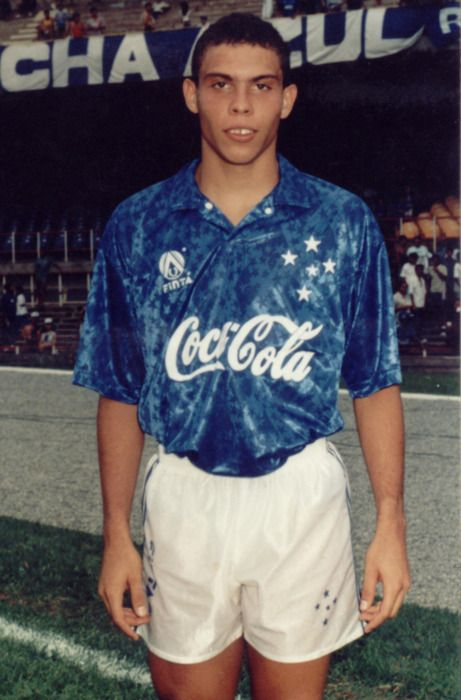 El Fenómeno 20 years ago, a 17-year-old Ronaldo was still at Cruzeiro and hadn't yet played for the Brazil national team. He went on to change the game, scoring the most FIFA World Cup goals (15) in history. #TBT