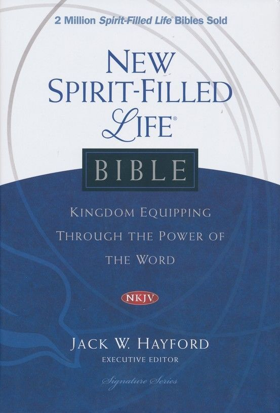 NKJV New Spirit Filled Life Bible, Hardcover