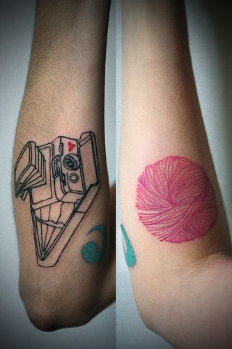 Knitting Related Tattoos : Best images about cool tattoos on pinterest david