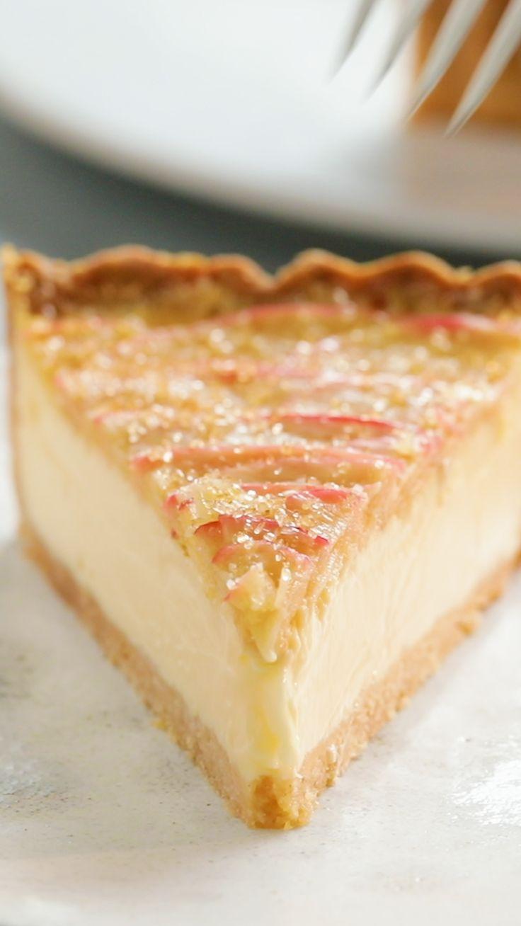Apple Crumble and Custard Tart – Kuchen