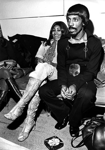 Photos of the late rock and soul man Ike & Tina Turner