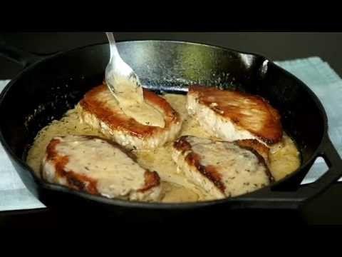 Côtelettes de porc, sauce crémeuse au citron... Un goût complètement renversant - Ma Fourchette