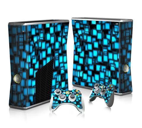 Make Your Child Smarter With Video Games Xbox Xbox 360 Blue Vinyl