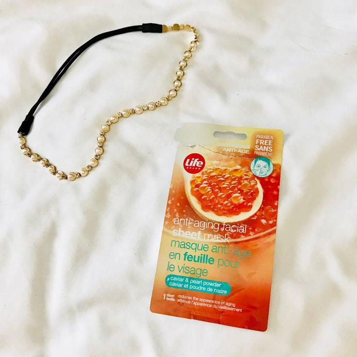 Life Brand: Caviar & Pearl Powder Sheet Mask review!