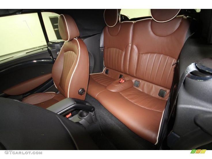 Hot Chocolate Lounge Leather Interior 2012 Mini Cooper John Cooper Works Convertible Photo #64072746