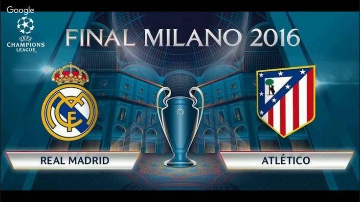 En Vivo REAL MADRID VS ATLETICO DE MADRID CHAMPIONS LEAGUE -FInal Milano AUDIO LATINO - http://tickets.fifanz2015.com/en-vivo-real-madrid-vs-atletico-de-madrid-champions-league-final-milano-audio-latino/ #UCLFinal