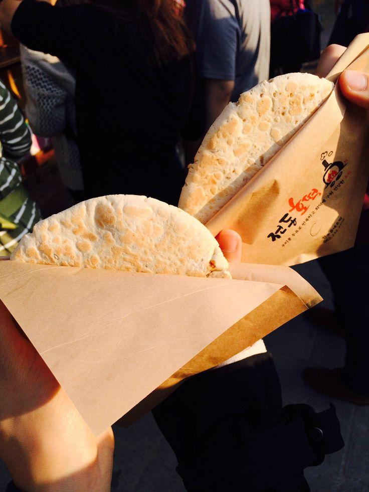 2014.10.24 전주 한옥마을 전동호떡(크림치즈,두유꿀)