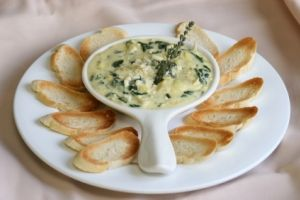 This sounds so good!: Spinach Artichoke Dip, Spinach Dips, Food, Spinachdip, Appetizers, Spinach Artichokes Dips, Dips Recipes, Favorite Recipes, Dip Recipes