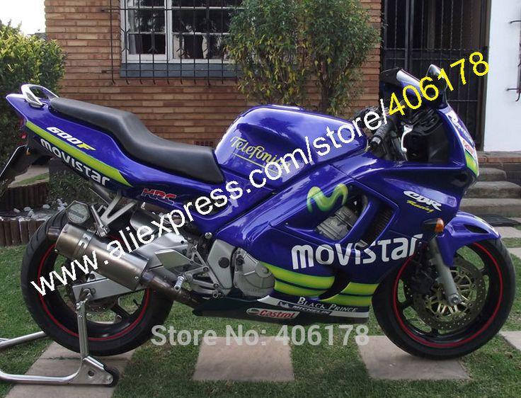 Hot Sales,For Honda CBR600 RR F3 97 98 CBR 600 RR 600RR 1997 1998 600f3 CBR600RR Movistar ABS Fairing Kit (Injection molding) #Affiliate