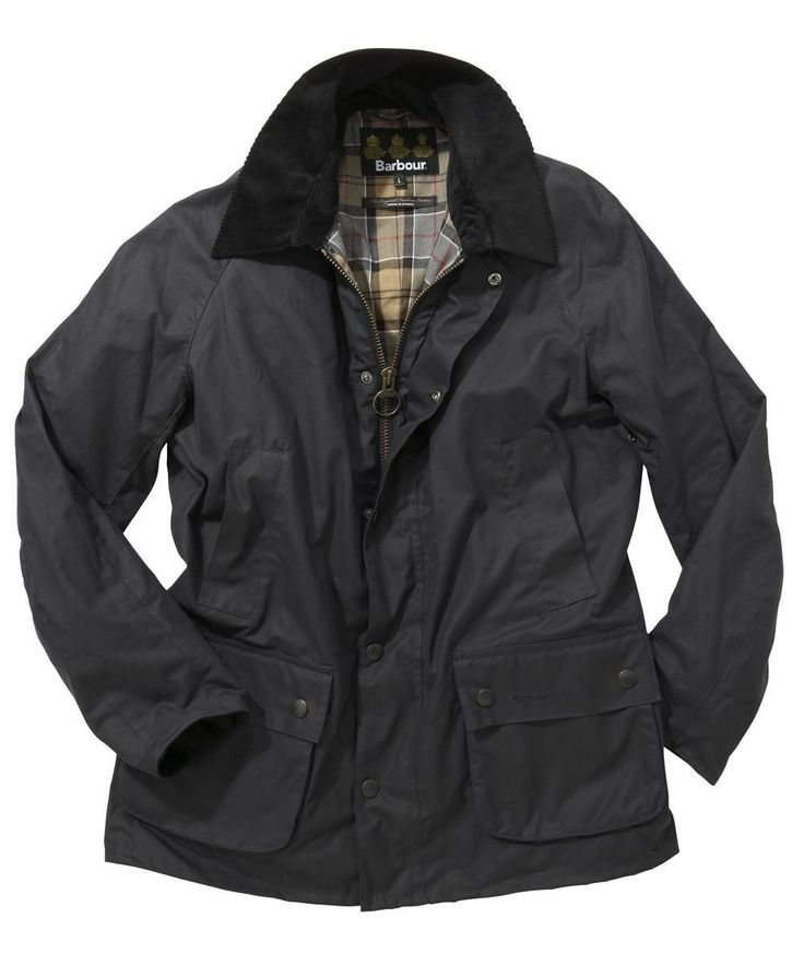 Mens Barbour Ashby Waxed Jacket - Navy £219