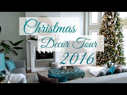 Christmas Decor Home Tour 2016 - http://www.eightynine10studios.com/christmas-decor-home-tour-2016/