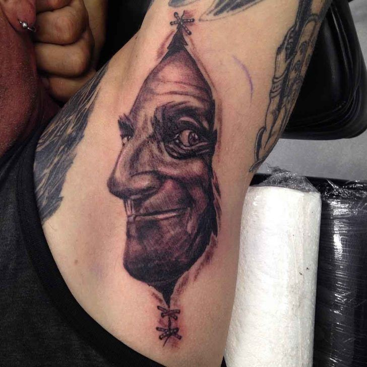 52 Best Armpit Tattoos Images On Pinterest
