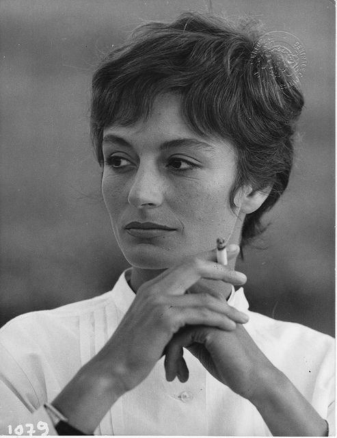 "Anouk Aimée: ""What helps me go forward is that I stay receptive; I feel that anything can happen."""
