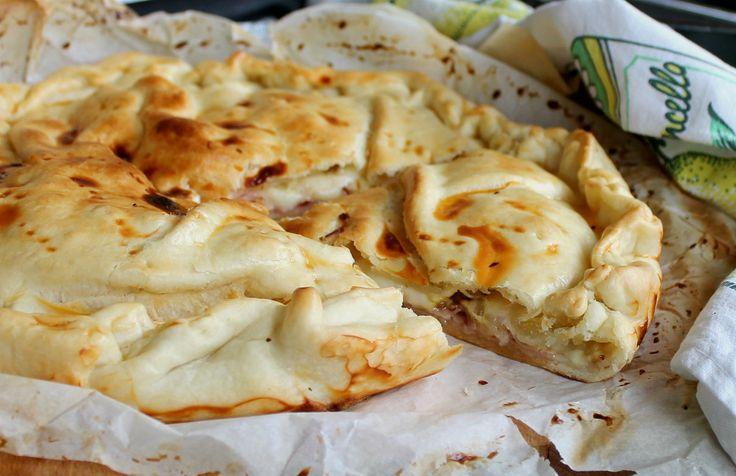Torta salata Delizia ai funghi | Torta salata funghi