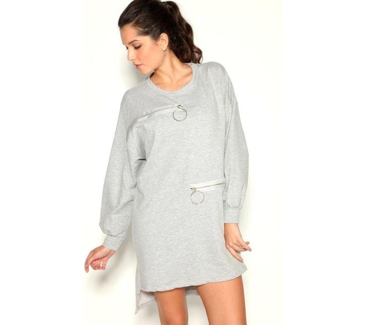 Šaty s originálnymi zipsami   modino.sk #ModinoSK #modino_sk #modino_style #style #fashion #dress