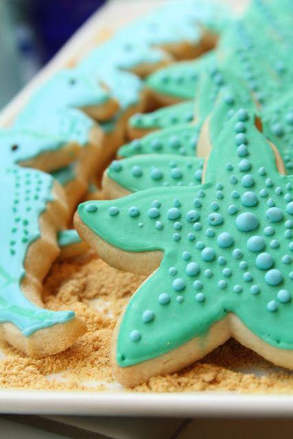 I Like To Bake Under The Sea Cookies Cookies