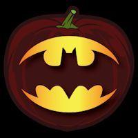 Batman Logo CO - Stoneykins Pumpkin Carving Patterns and Stencils