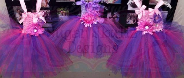 Flower girl dresses or for themed birthday parties