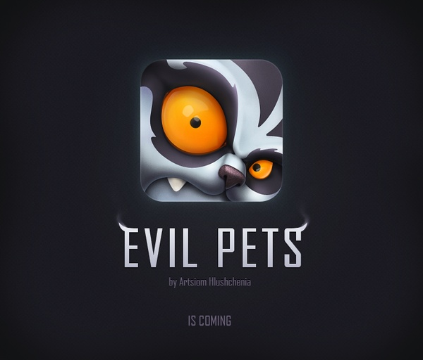 Evil Pets by Artsiom Hlushchenia, via Behance