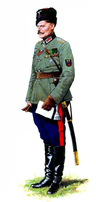 WEHRMACHT - Generale cosacco del Don in servizio per la Wehrmacht