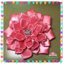 Resultado de imagem para flores de listón