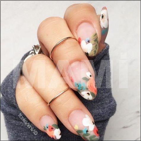 Niedliche Designs pro ovale Nägel, die überall rocken ★ Weitere Informatione… – Fingernägel