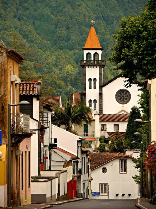 Furnas is a civil parish in the municipality of Povoação on the island of São Miguel in the Portuguese Azores. ] The parish is one of the largest in the island and in the Azores. It is located east...