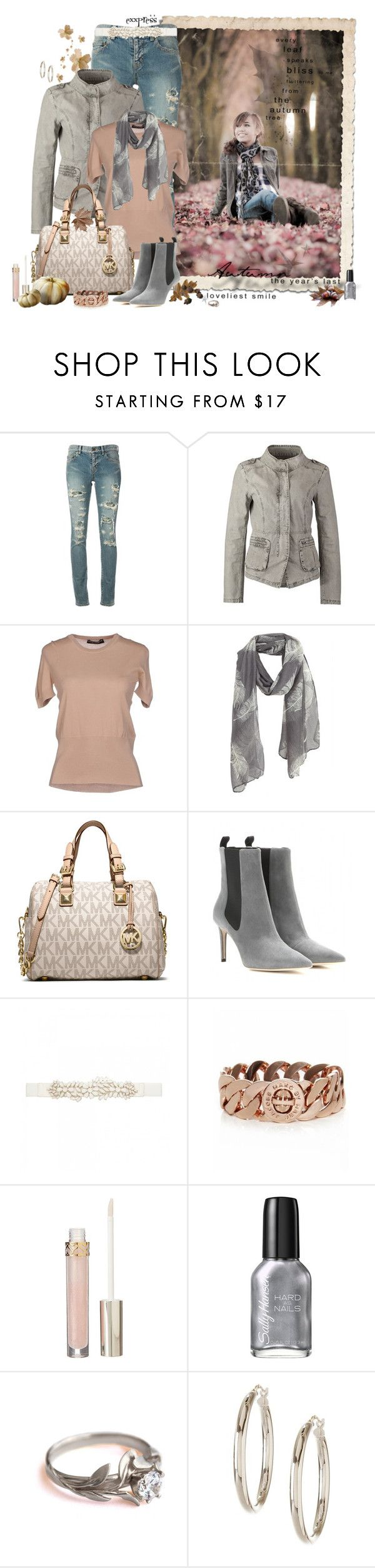 """""""The Softer Side of Fall"""" by exxpress ❤ liked on Polyvore featuring Fantasia, Yves Saint Laurent, ONLY, Dolce&Gabbana, MICHAEL Michael Kors, Balenciaga, Forever New, Marc by Marc Jacobs, Stila and Sally Hansen"""
