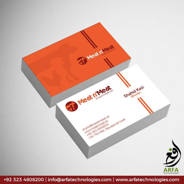 Meat N Meat Business Card Design Business Card Design Business Card Design Creative Cool Business Cards