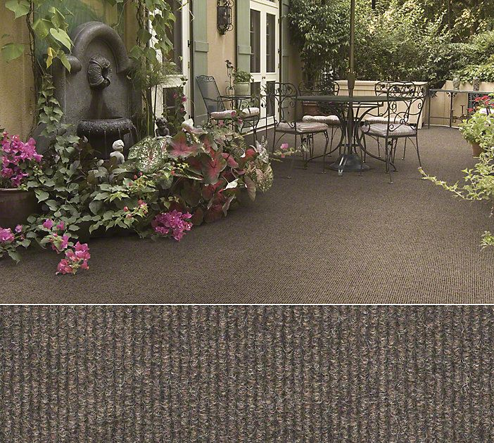 Shaw Carpet In A Ribbed Pattern Perfect For That Outdoor