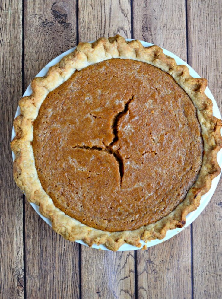 Sweet Potato Pie with Maple Whipped Cream features an all-butter crust for your Thanksgiving table. A classic American dessert!