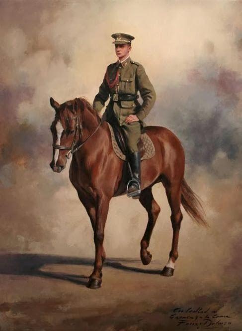 King Juan Carlos I, by Augusto Ferrer Dalmau
