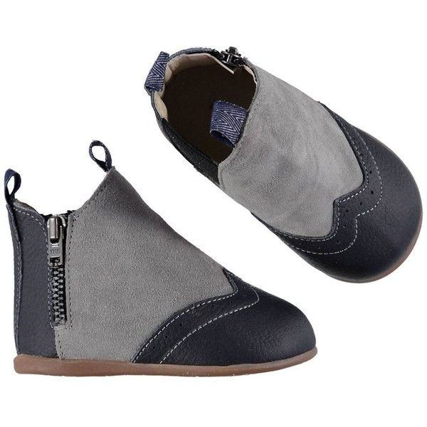 Boots Suede Blue And Grey ❤ liked on Polyvore featuring shoes, boots, grey shoes, suede boots, suede leather boots, gray suede boots and gray boots